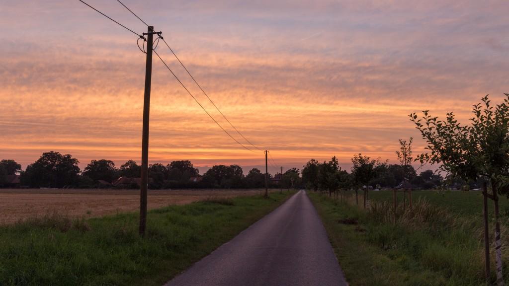 Blick zurück zum Dorf (Bild: B. Knispel)